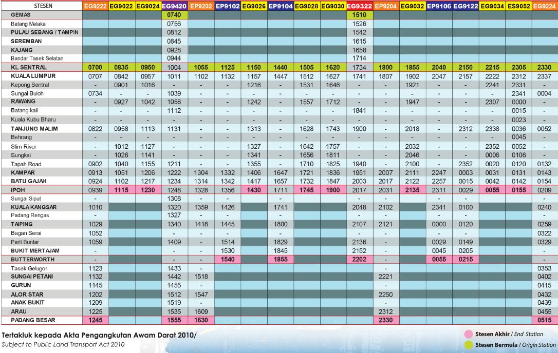 ETS-train-Gemas-to-Padang-Besar-Time-Table-Schedule