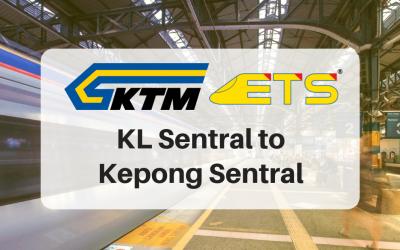 KL Sentral to Kepong Sentral