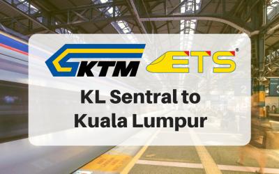 KL Sentral to Kuala Lumpur